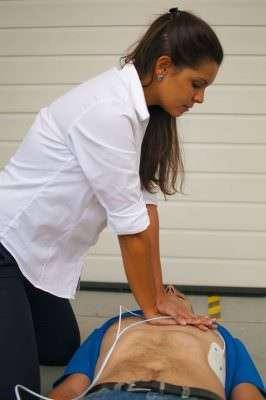 first aid at work course