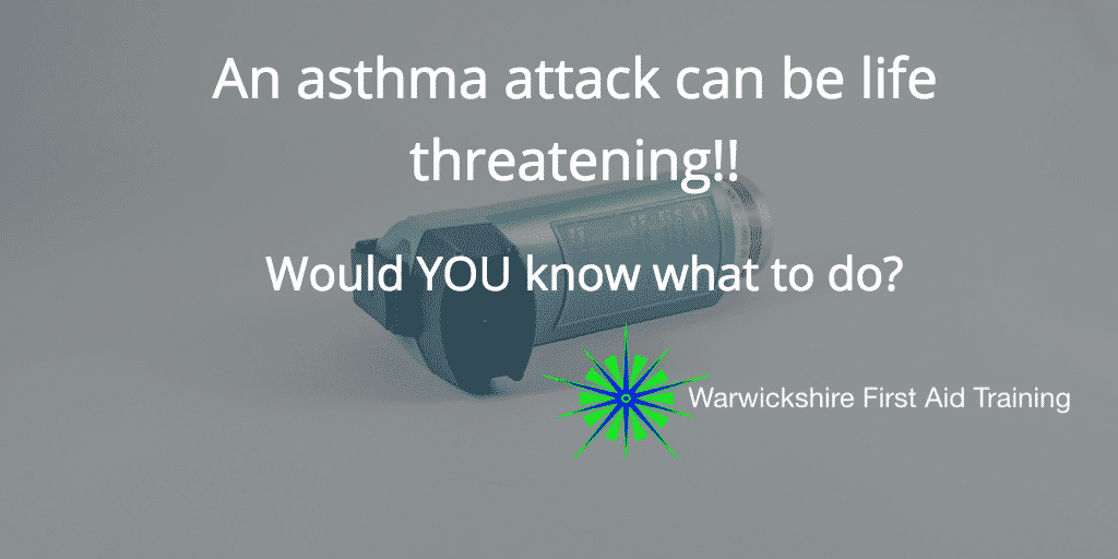 asthma attack can be damn scary