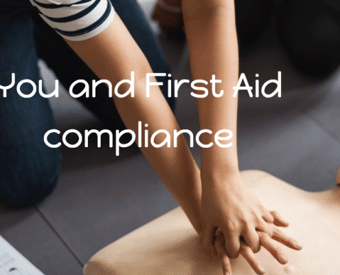 you and first aid compliance